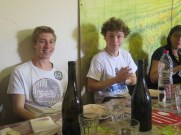 Noellat Team Lunch Day 1 Les Jeunes