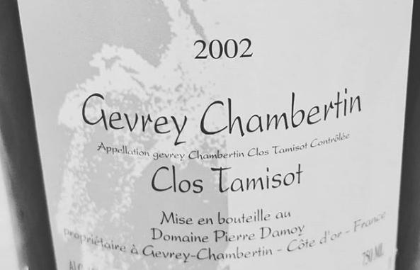 2002 Damoy Clos Tamisot