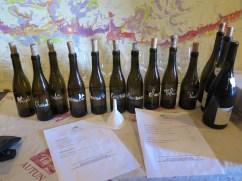 Domaine Philippe Chavy, Puligny cellar tasting line up
