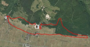 Today's 10.4 km...