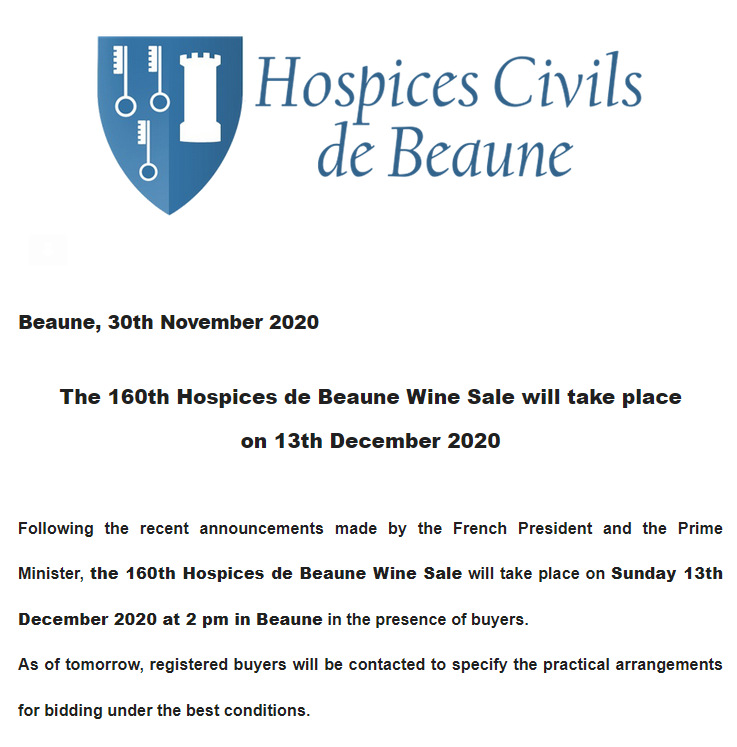 Hospices auction 2020