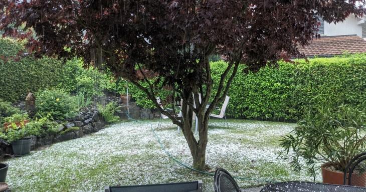 hail at home