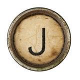 Type Writer Keys_J