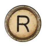Type Writer Keys_R