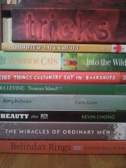My main stack of possible reads