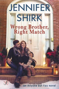 Blog Tour: Wrong Brother, Right Match by Jennifer Shirk (Excerpt & Giveaway)