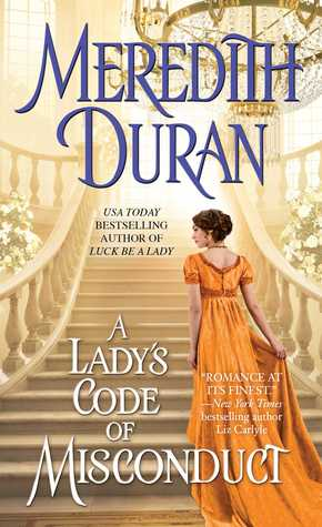 Book Review: A Lady's Code of Misconduct by Meredith Duran (Review & Giveaway)