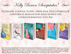 Author Event: Kelly Bowen Sweepstakes + Vote on Kelly's New Duke