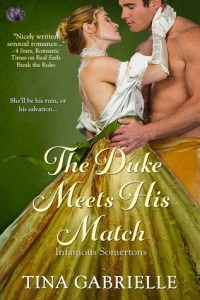 Cover Reveal: The Duke Meets His Match by Tina Gabrielle (Cover Reveal, Excerpt & Giveaway)