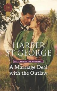 ARC Review: A Marriage Deal with the Outlaw by Harper St George