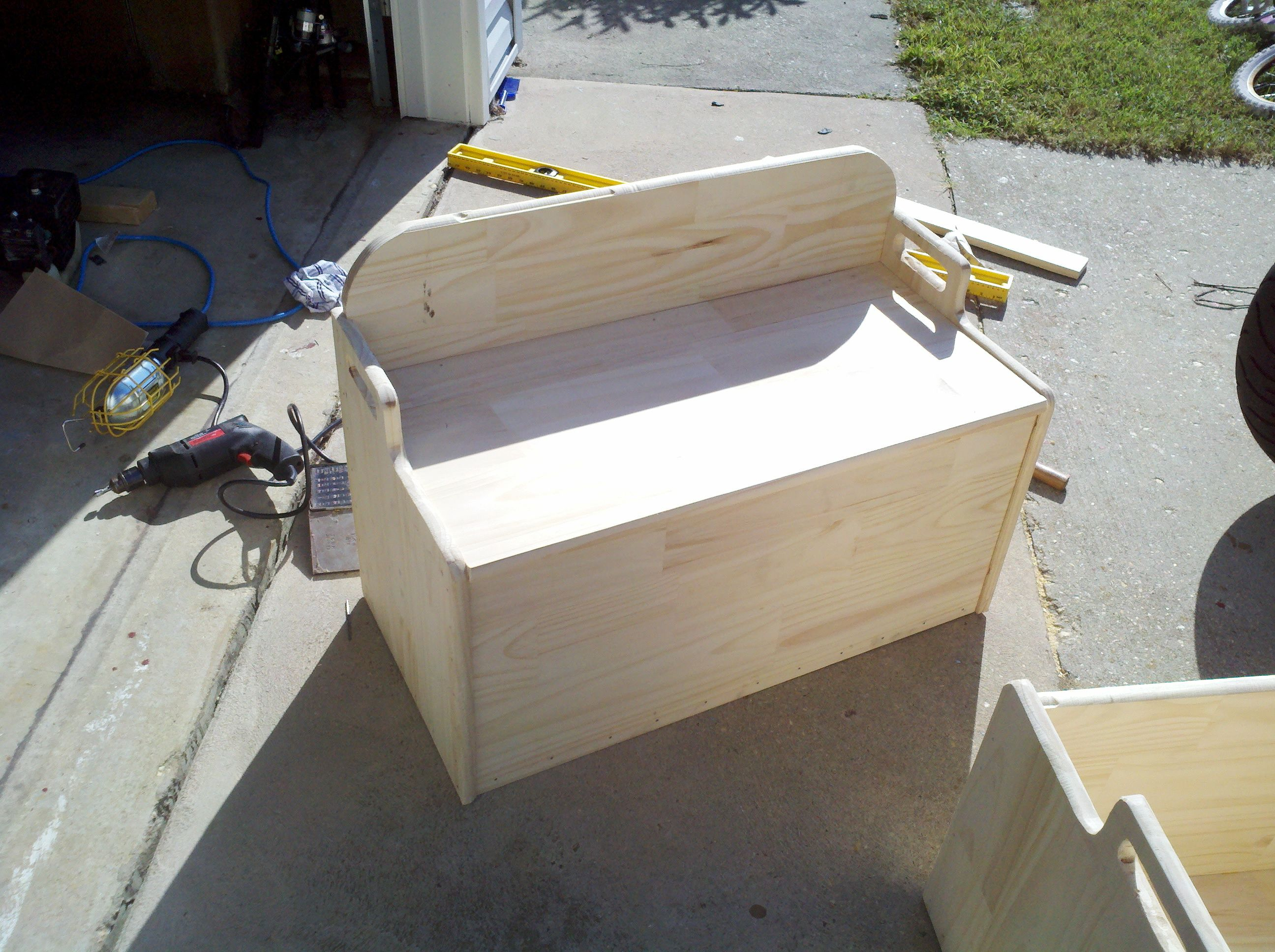 build your own toy box