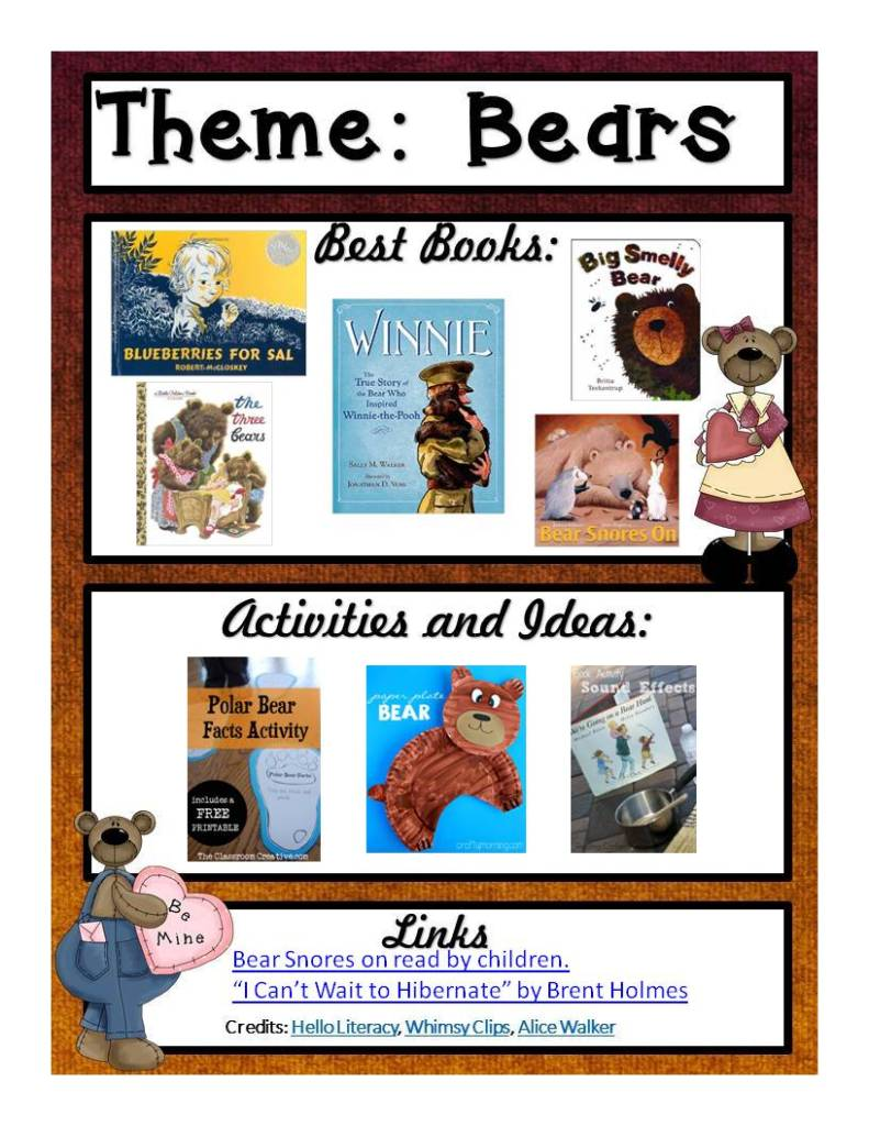 Thematic Thursday Bears