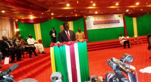 Le Président du Faso, Michel Kafando  © Burkina24