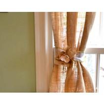 buy burlap curtains rustic style