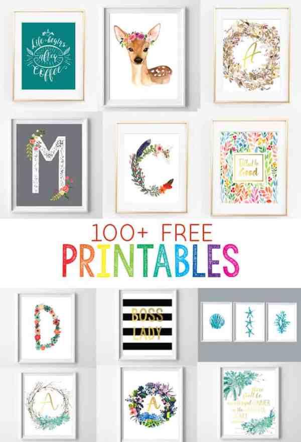 free printable # 2