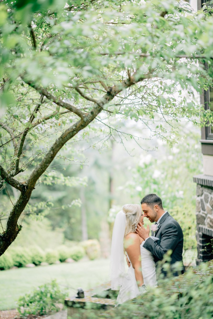Nicole + David's Blush and Gray Wedding by Jenn Tai Photo Artistry