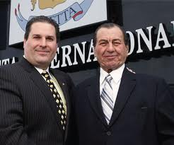Paletta International, a company with large land holdings in Burlington and the developer of some of the larger housing developments constantly tangles with the city over land use issues  Angelo Paletta is on the left.