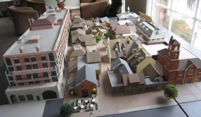 Village square architects model