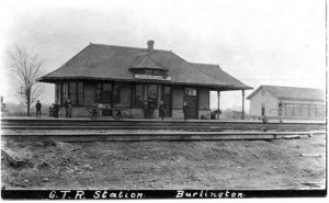 Freeman station - old GTR picture