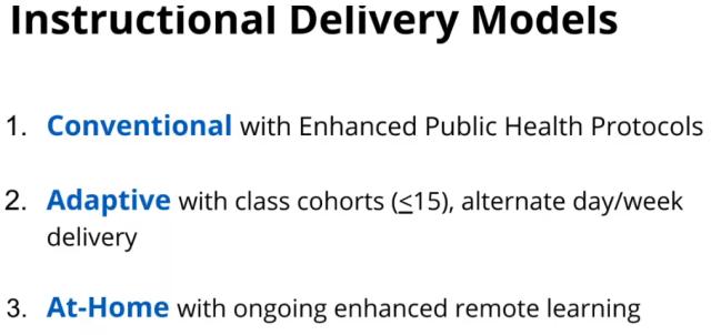 3 delivery models