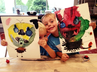 AGB kids withj art