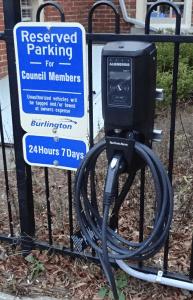 BMW hydro EV charging device