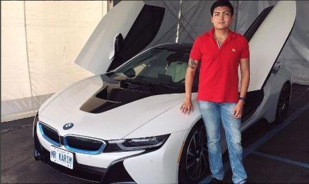 Baratov with car