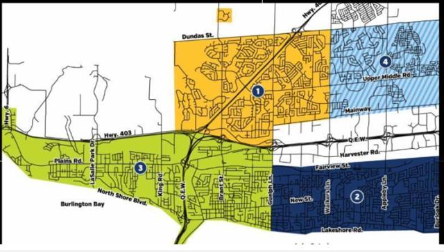 Leaf pick up zones 2017