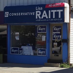 Lisa Rait storefront