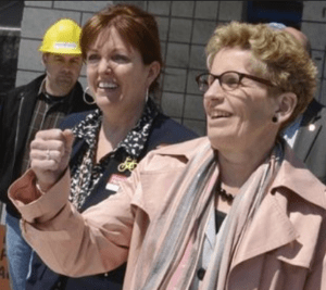 McMahon with Wynne
