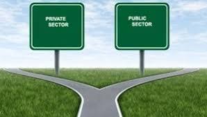 Priv - public sectors