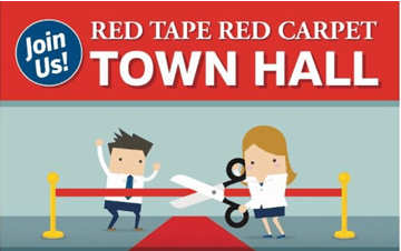 Red tape red carpet