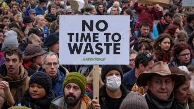 no time to waste -belgium-climate-demonstration