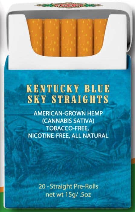 Bhang CBD Cigarettes Kentucky Blue Sky