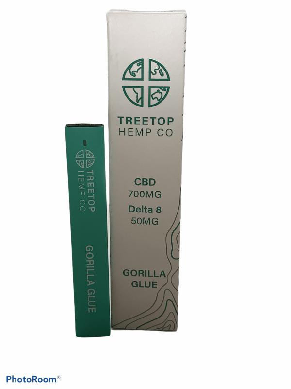 gorilla glue disposable vape pen