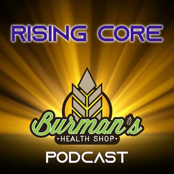 burmans logo rising core