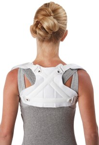 front closure clavicle support back