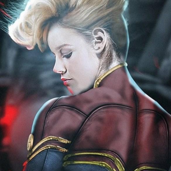Divulgado novo pôster de Capitã Marvel 28