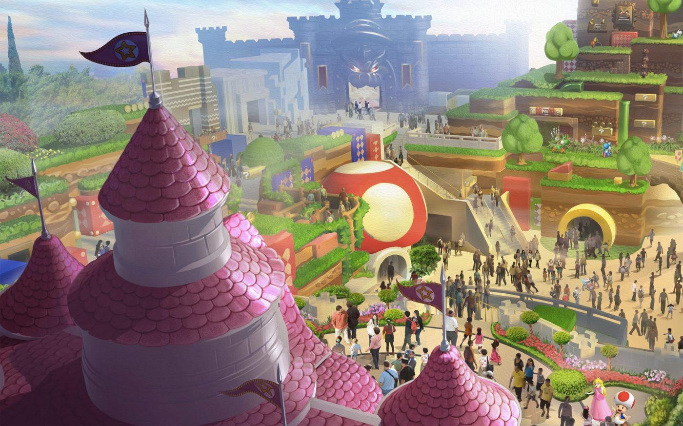Obras do parque temático da Nintendo são iniciadas no Japão