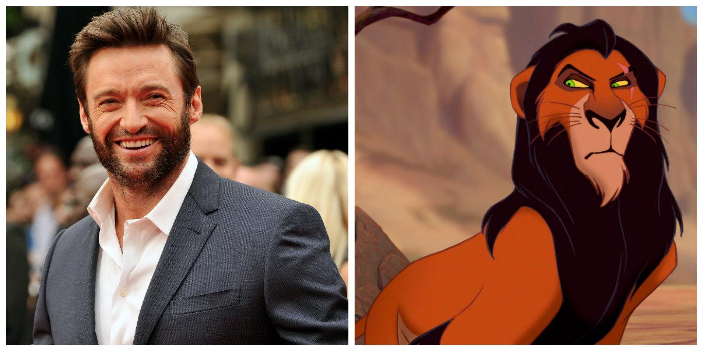 Hugh Jackman nega que será Scar no live-action — O Rei Leão