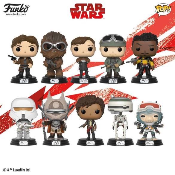 Funko divulga os colecionáveis do filme 'Solo: Uma História Star Wars' 16