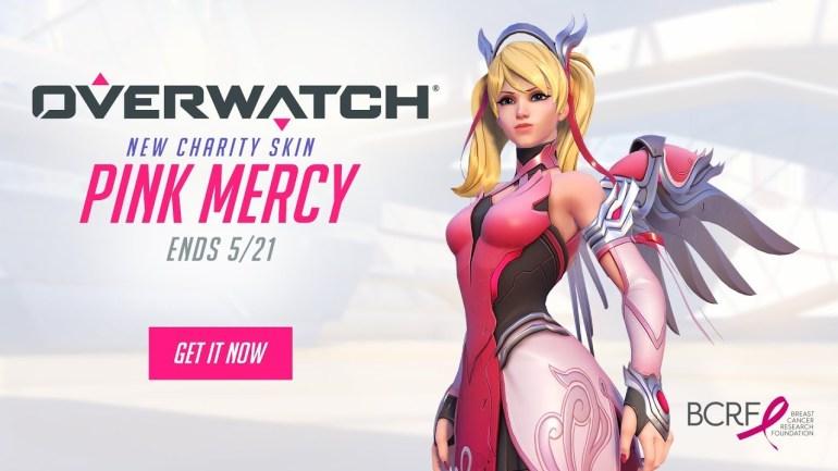 Overwatch lança nova skin da Mercy para apoiar movimento contra o câncer de mama 16