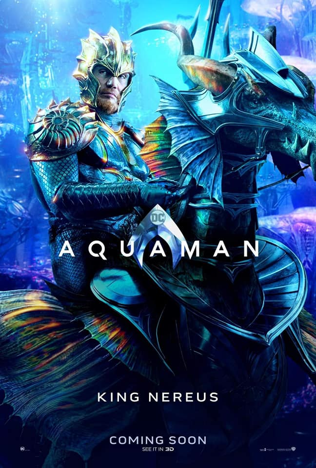 Aquaman – Divulgados novos pôsteres individuais dos personagens 23