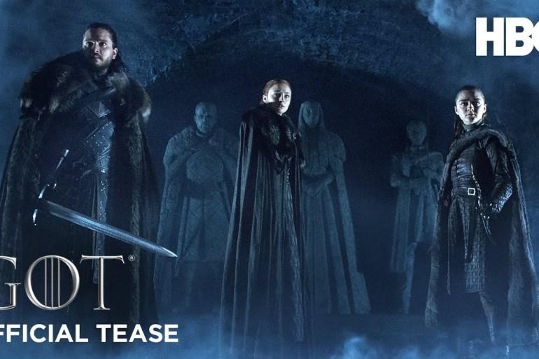 Última temporada de Game of Thrones tem data de estreia anunciada pela HBO 17