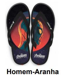 Piticas lança chinelos inspirados em personagens da Marvel 20