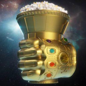 Manopla do Infinito de Vingadores vira combo do Cinemark 26