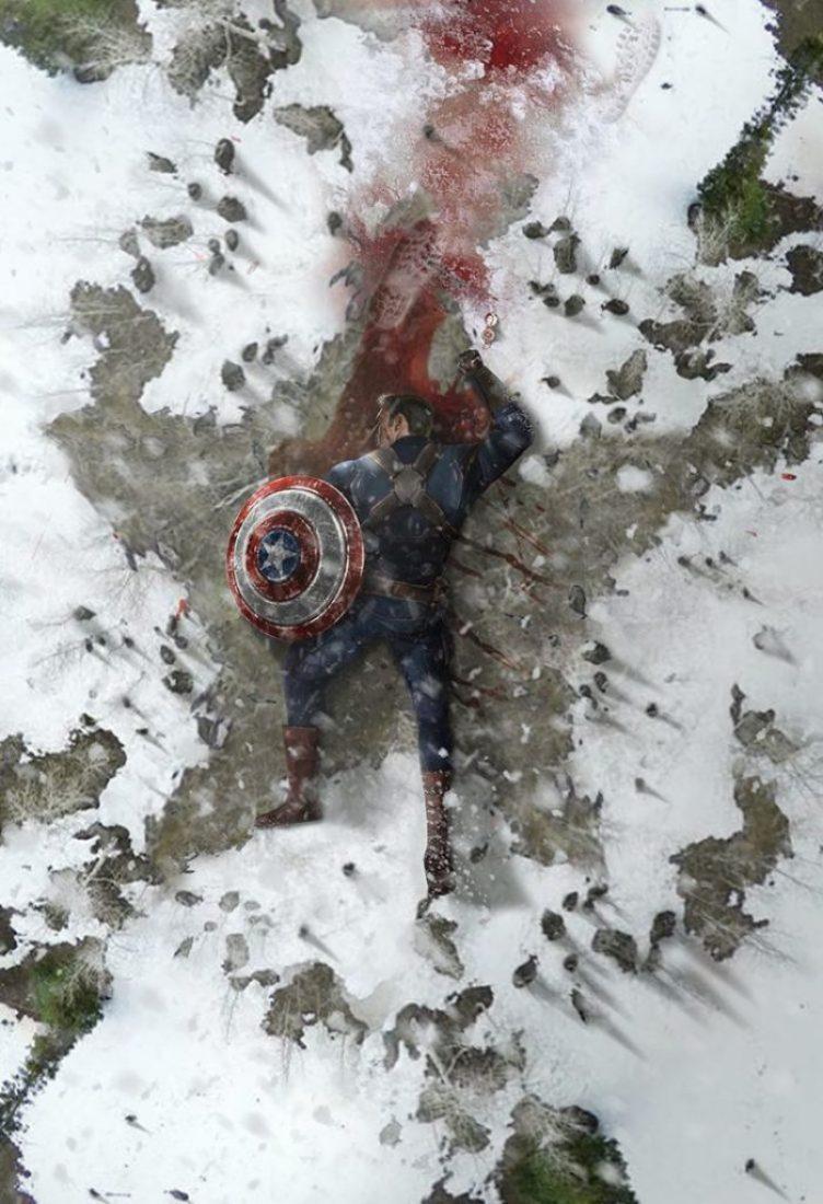 'Vingadores: Ultimato': Fan-art imagina trágica morte do Capitão América 17