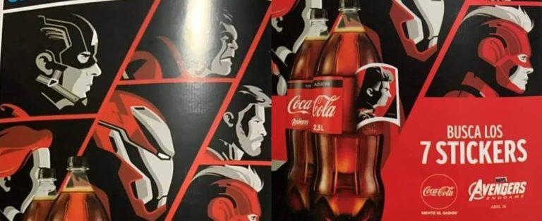 Heróis de Vingadores: Ultimato irão estampar as latas da Coca-Cola! 18