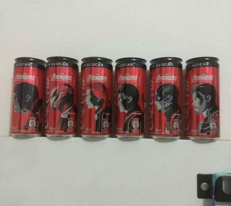 Heróis de Vingadores: Ultimato irão estampar as latas da Coca-Cola! 19