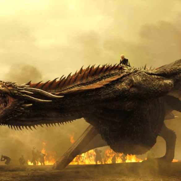 """""""Game of Thrones"""" usa o som de tartarugas transando para representar rugido de dragões 16"""
